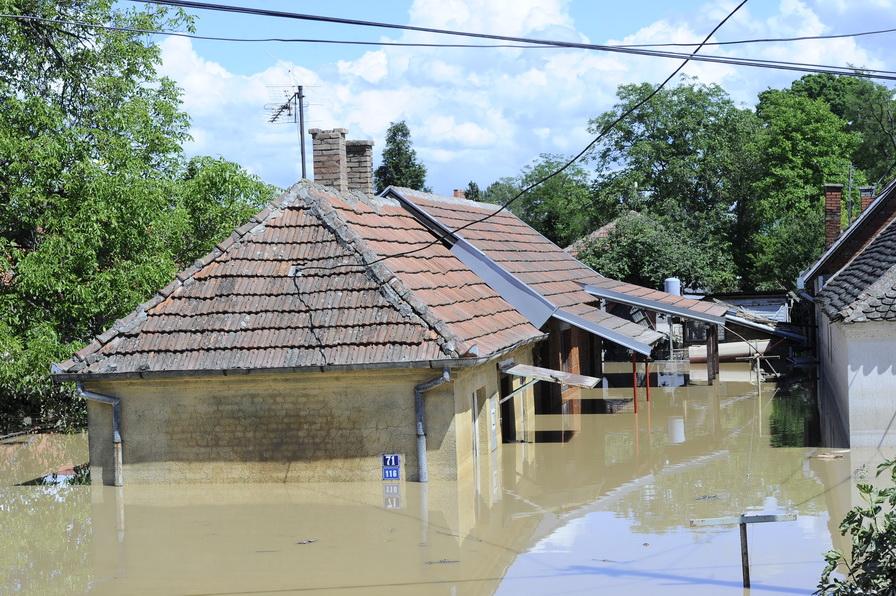Povodne v Obrenovaci. Foto: Vesna Lalic, Ringier Axel Springer