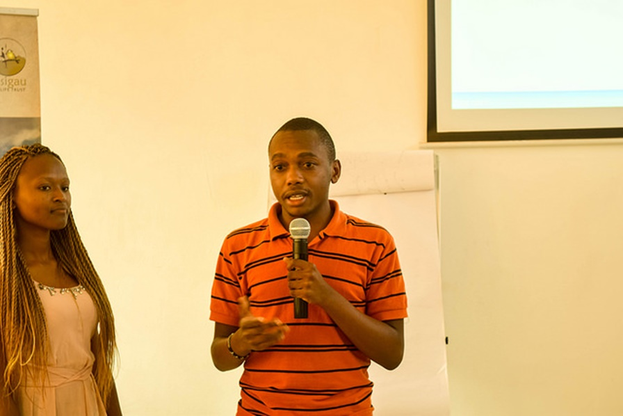 Startup G&Y Solutions pitch at Sote Hub Launch.