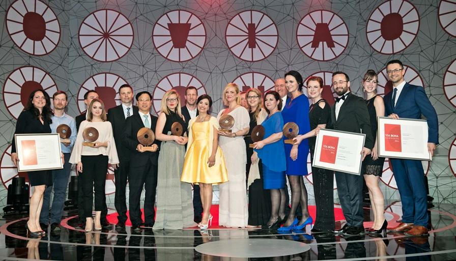 Víťazi ocenenia Via Bona Slovakia za rok 2016
