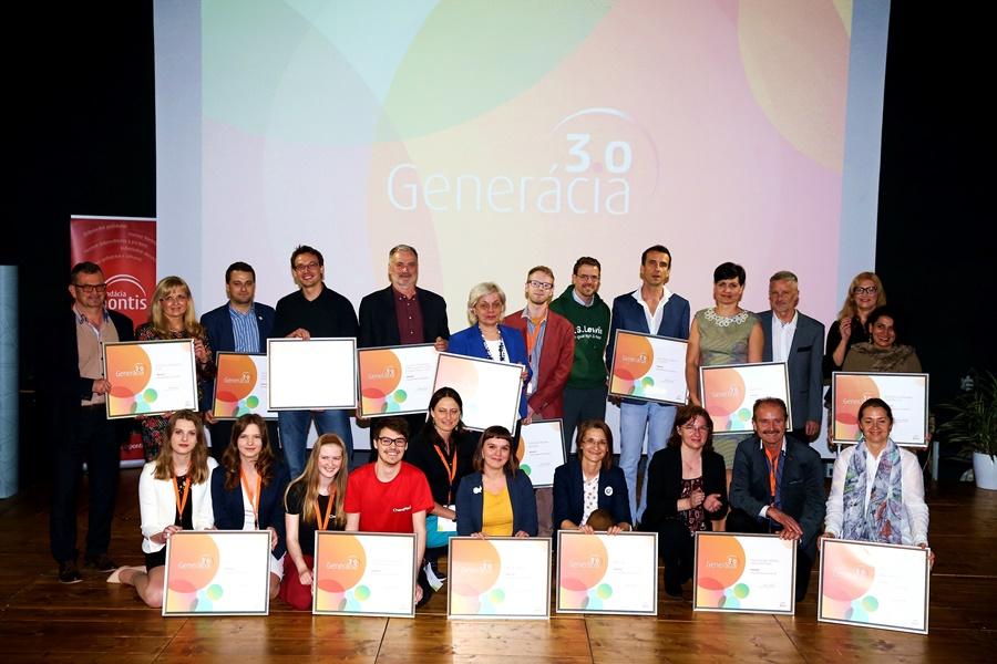 15 finalistov Ceny Generácia 3.0