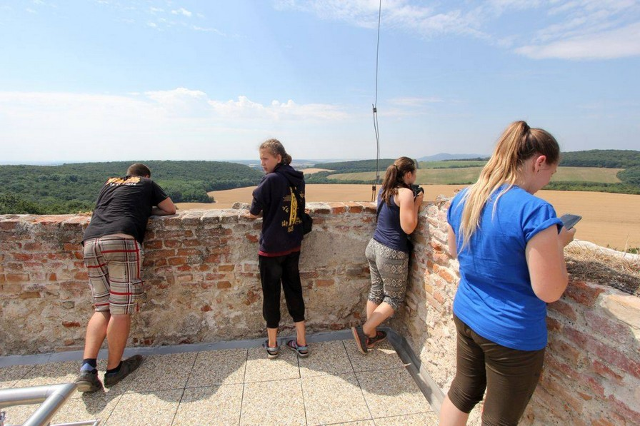 Výhľad z veže kostola je jednoducho skvostný. (zdroj: FB Katarínka)