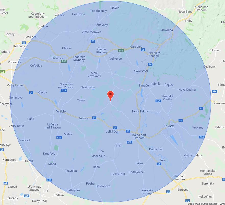 Základné a materské školy 30 km od AE Mochovce môžu žiadať o grant. Rádius ostatných v prílohe.